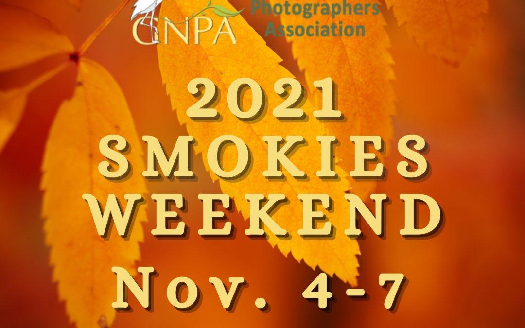 2021 Smokies Weekend Update: SPEAKER REVEAL!