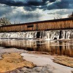 Watson Mill Bridge State Park – Covered Bridge, Water, and Ruins